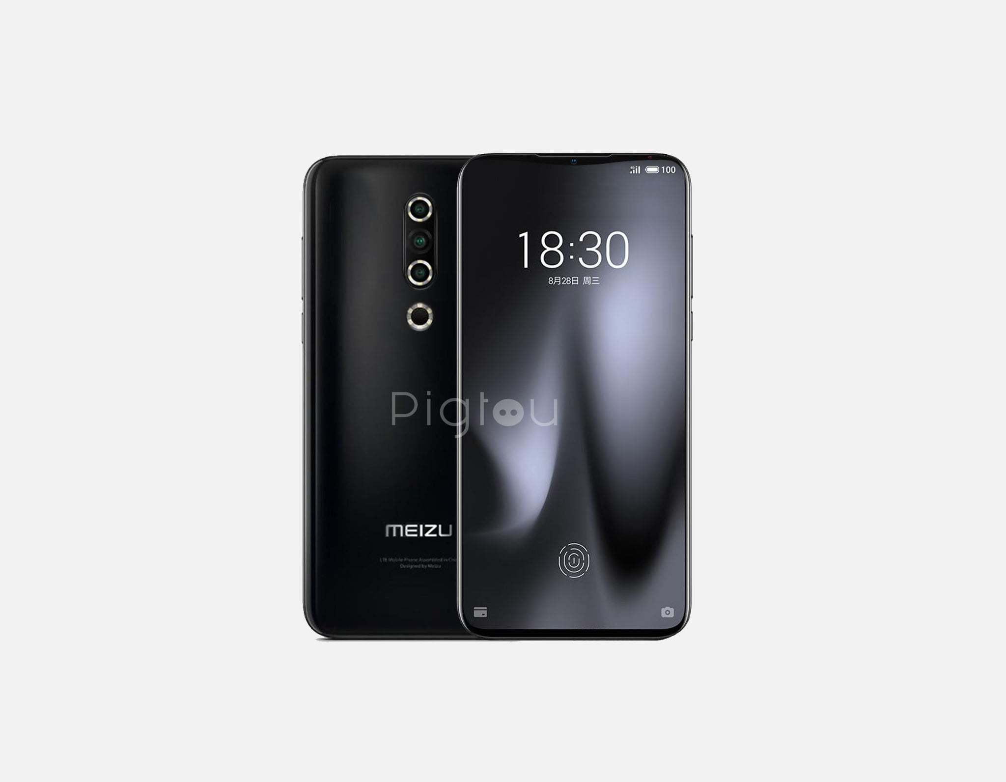 Meizu Pro 8 Plus front and back leaks