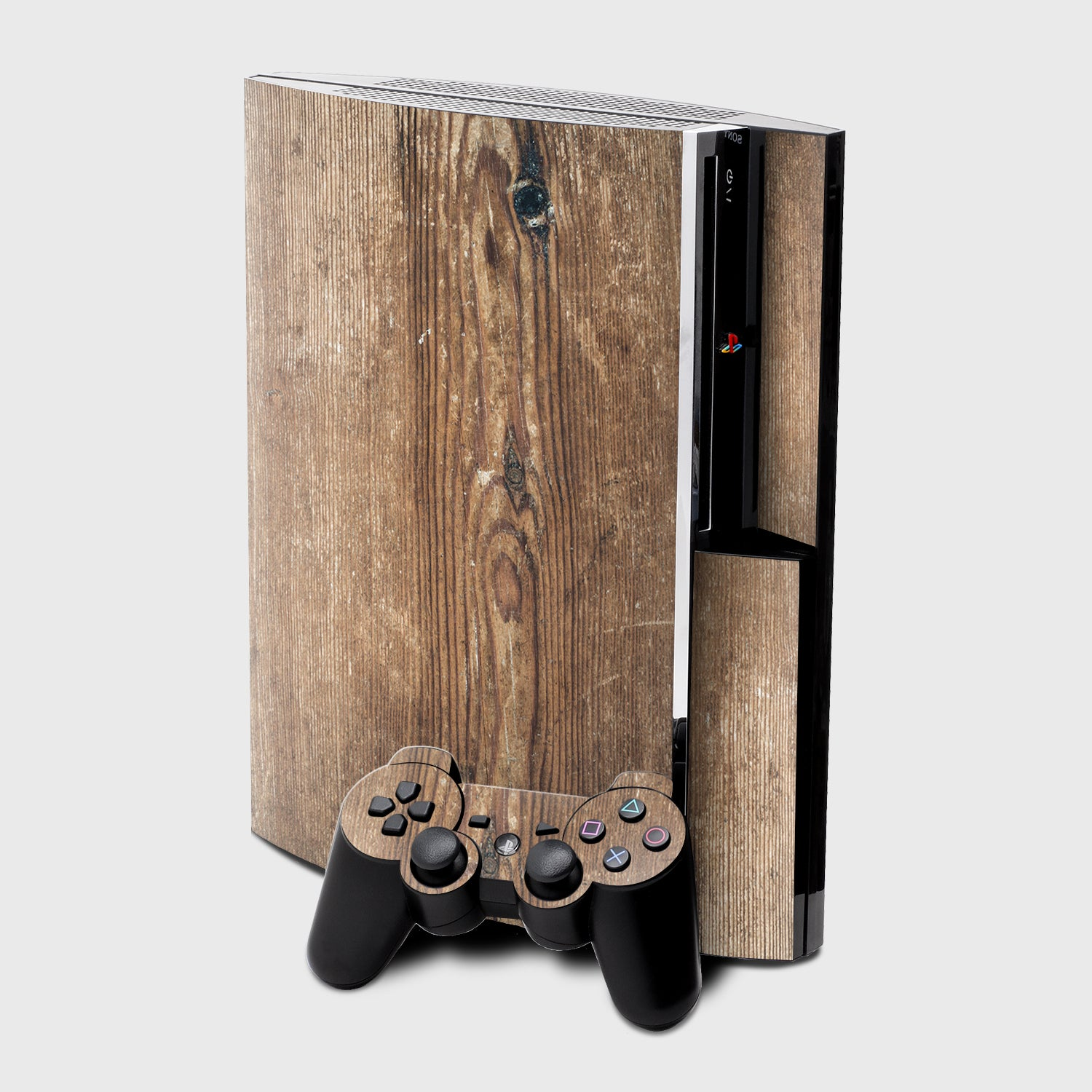 PINE WOOD Sony PS3 skins | Pigtou
