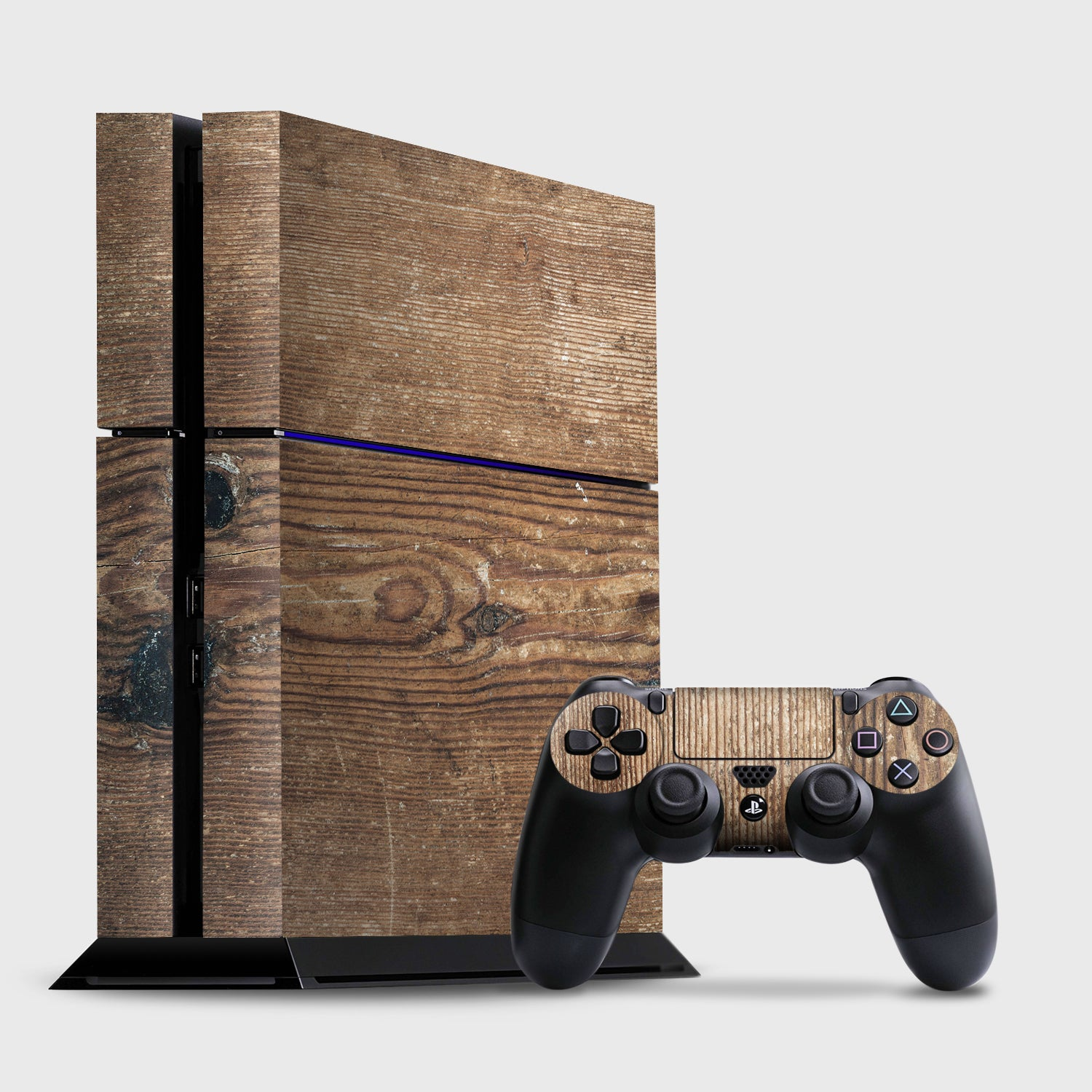 PINE WOOD Sony PS4 skins | Pigtou