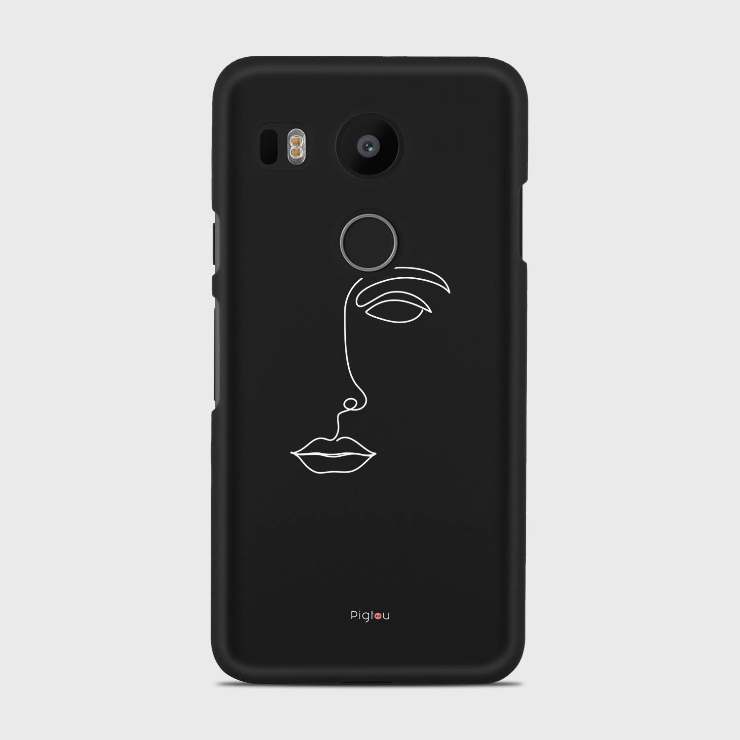 SILHOUETTE FACE Google Nexus 5X cases | Pigtou