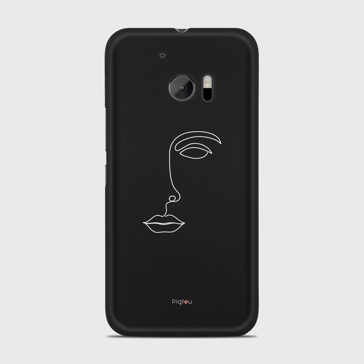 SILHOUETTE FACE HTC 10 cases | Pigtou