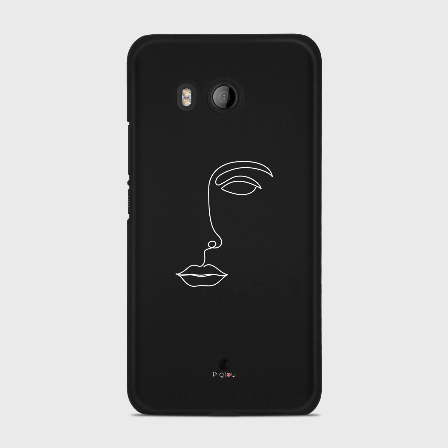 SILHOUETTE FACE HTC U11 cases | Pigtou
