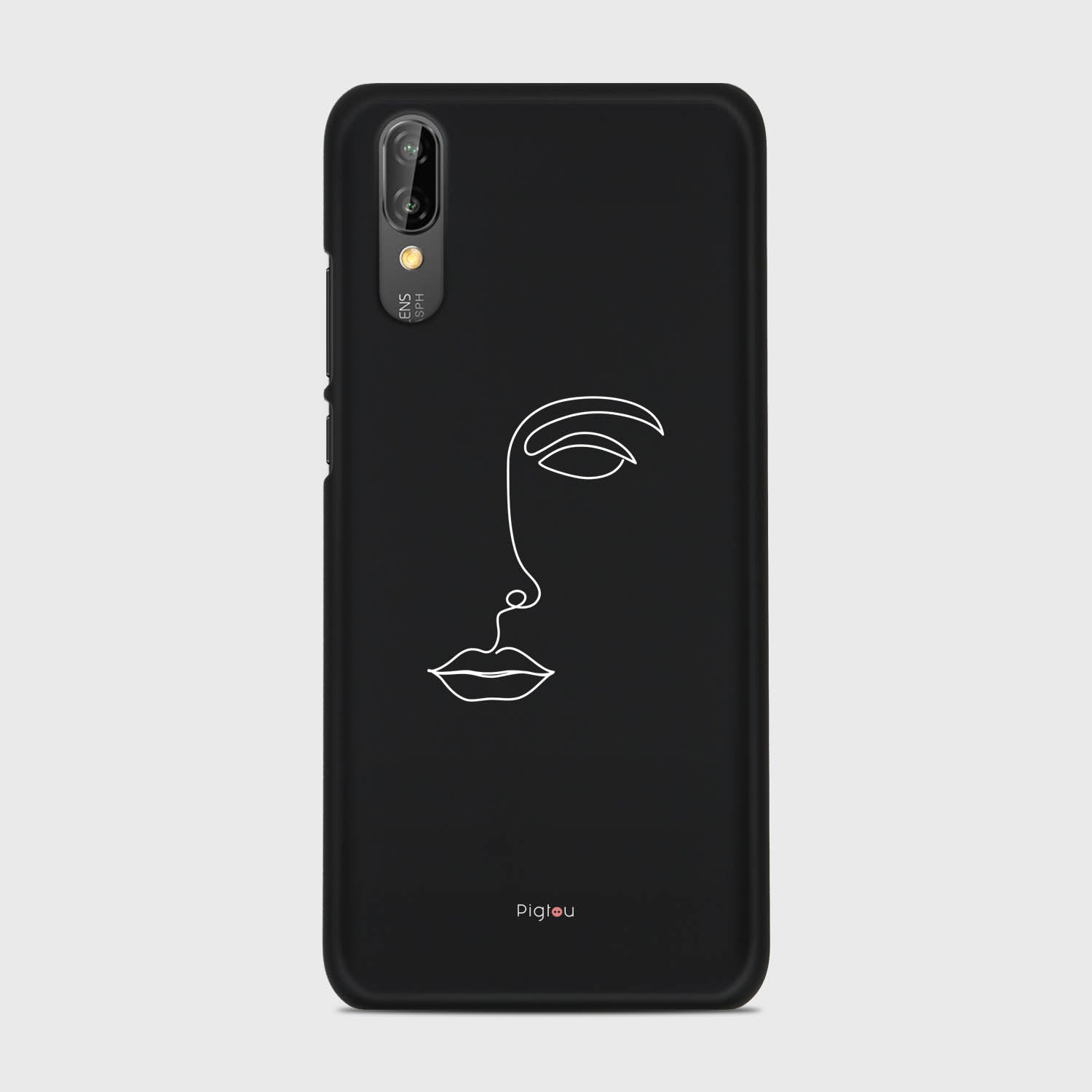 SILHOUETTE FACE Huawei P20 cases | Pigtou