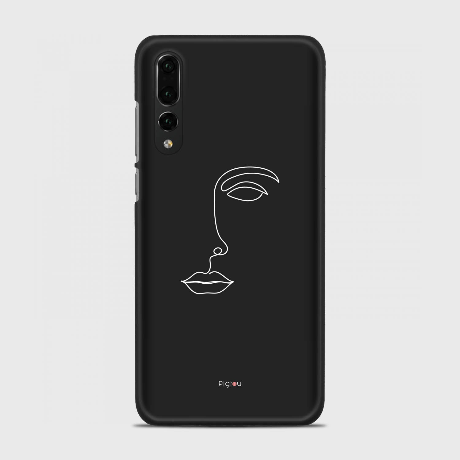 SILHOUETTE FACE Huawei P20 Pro cases | Pigtou