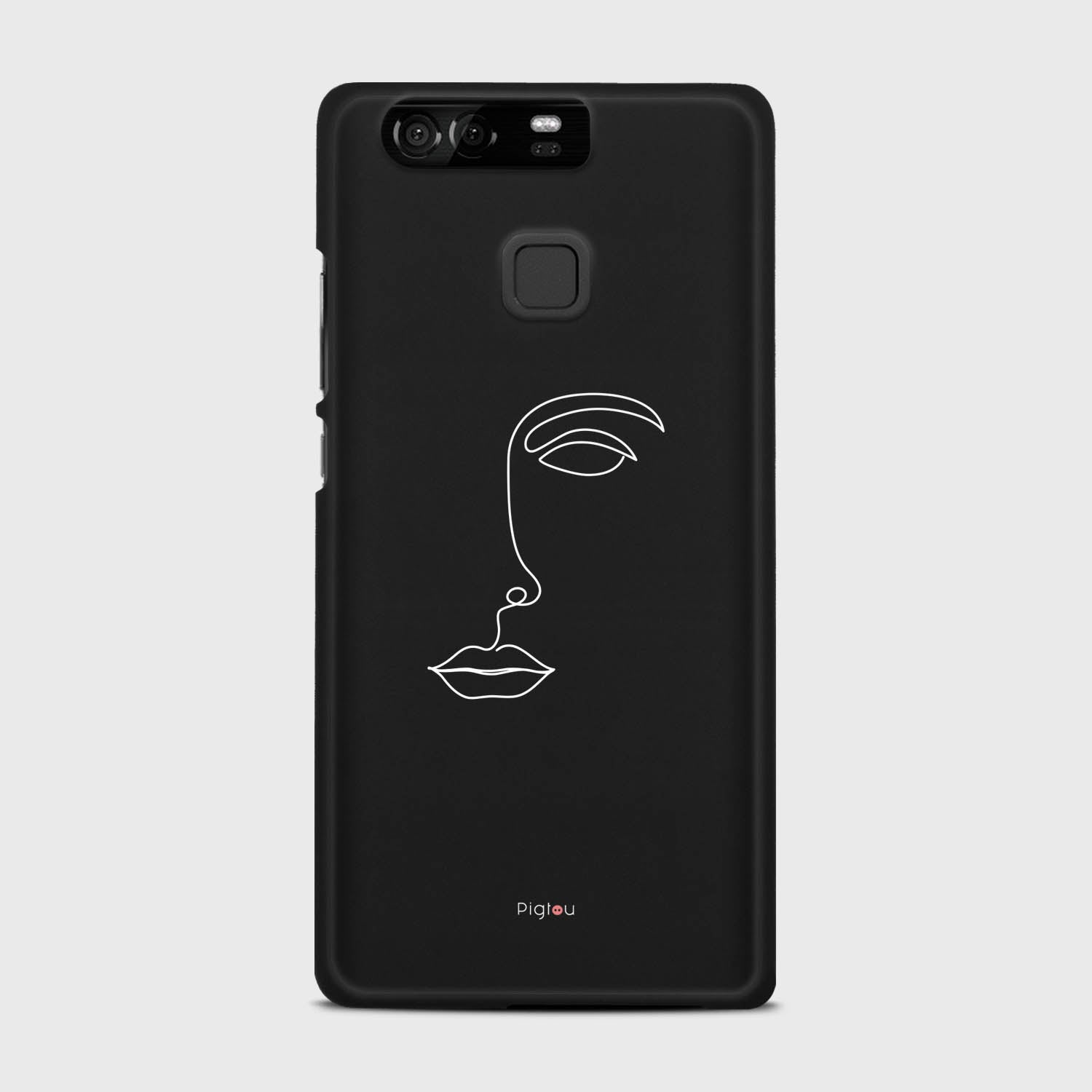 SILHOUETTE FACE Huawei P9 cases | Pigtou