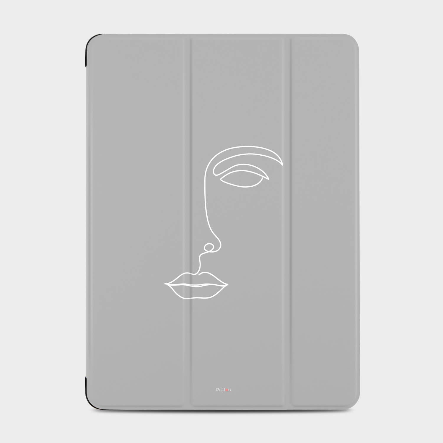 SILHOUETTE FACE iPad 2 cases | Pigtou