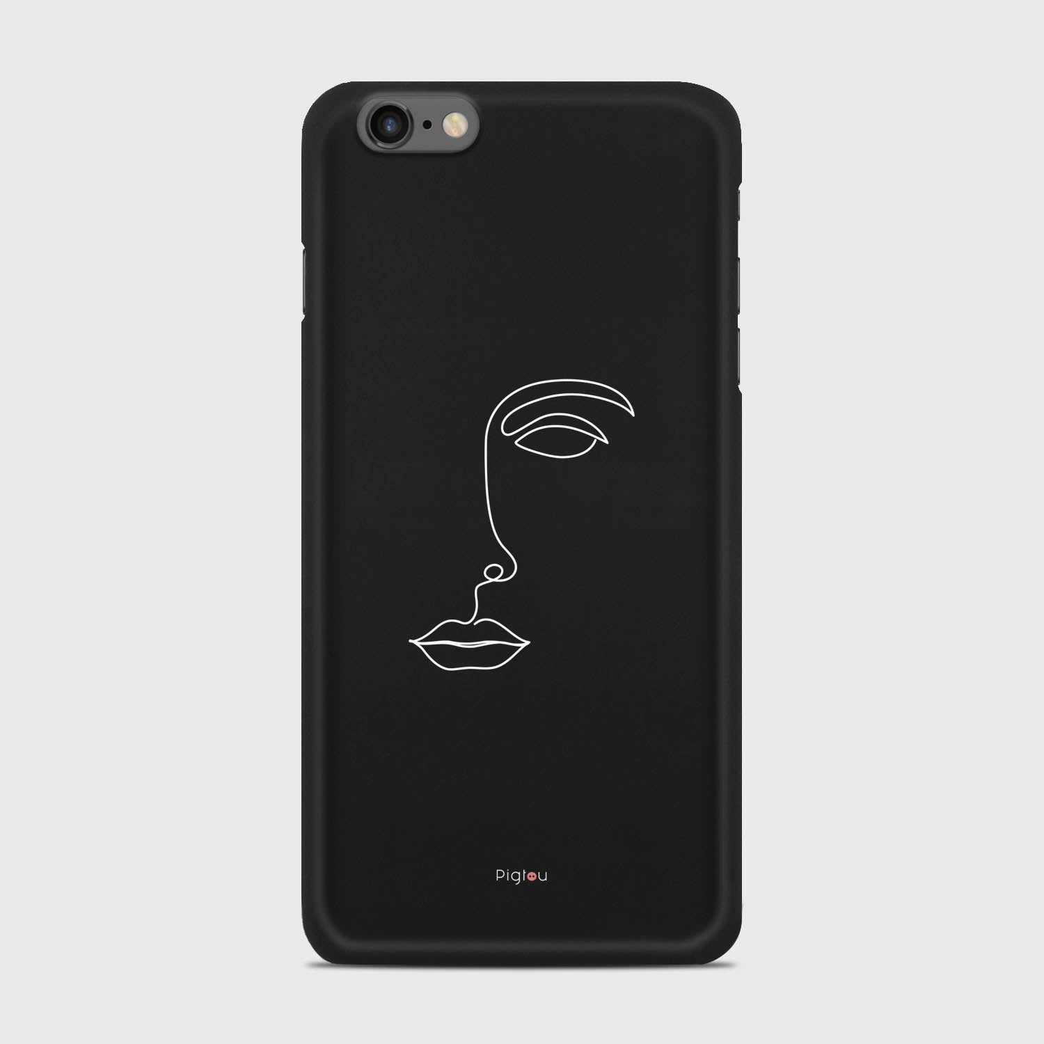 SILHOUETTE FACE iPhone 6s Plus cases | Pigtou