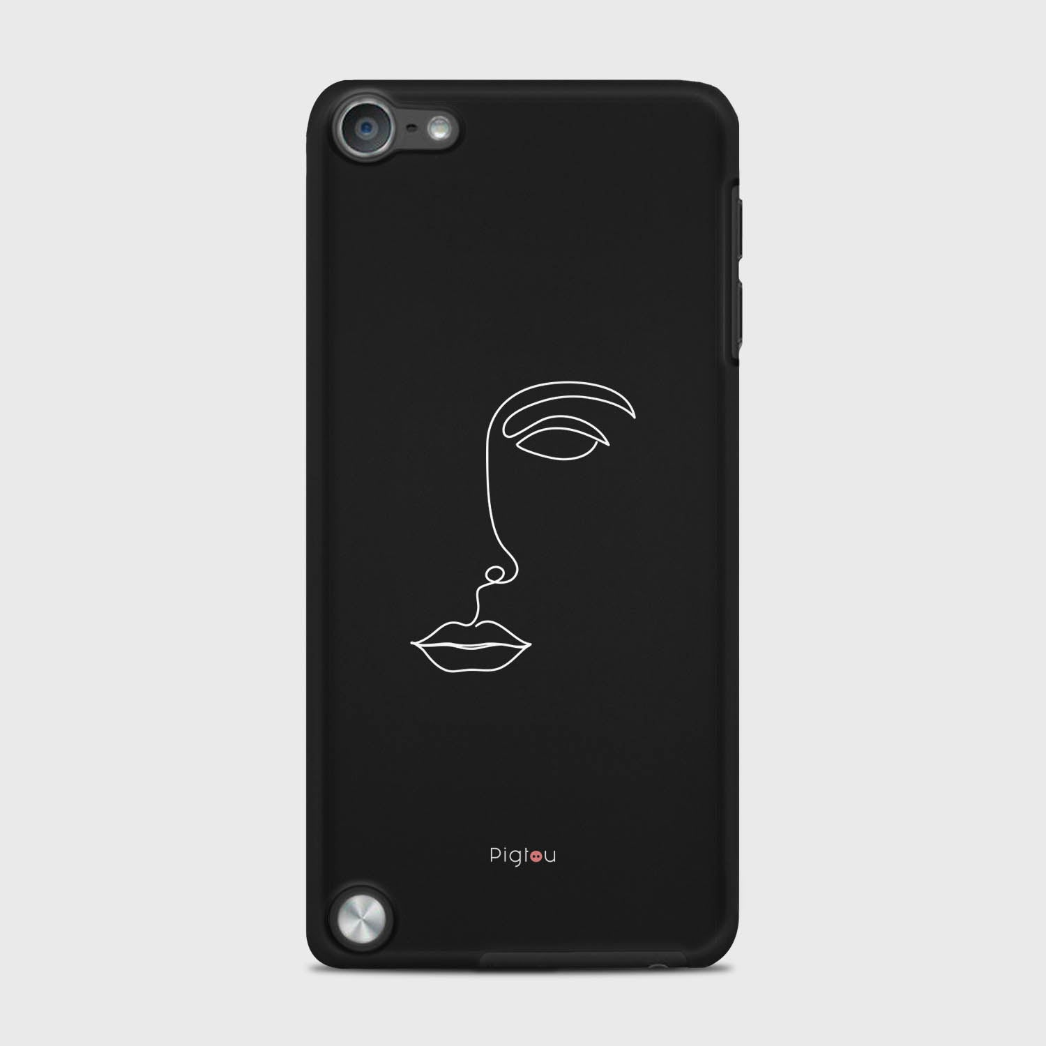 SILHOUETTE FACE iPod 5 cases | Pigtou