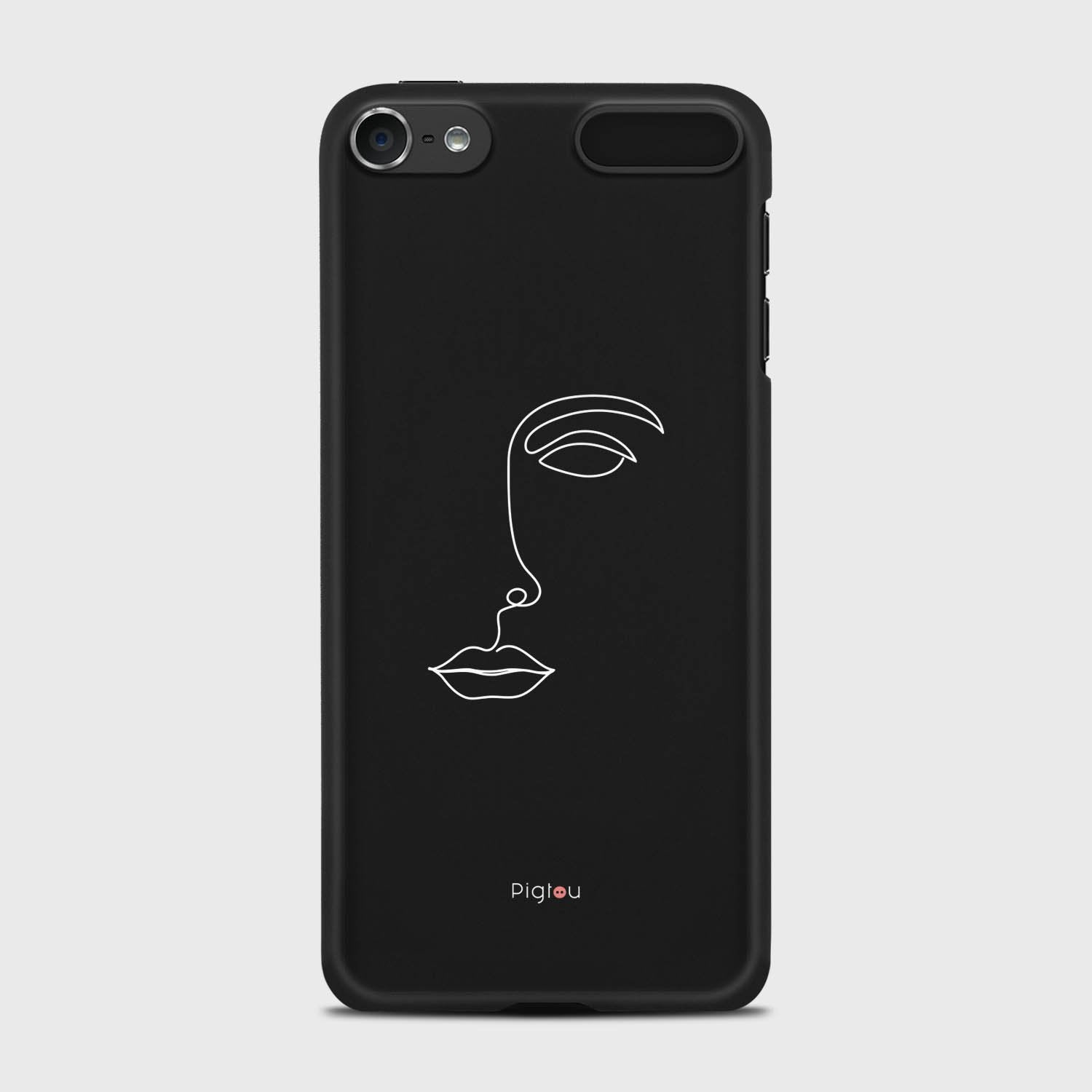 SILHOUETTE FACE iPod 7 cases | Pigtou