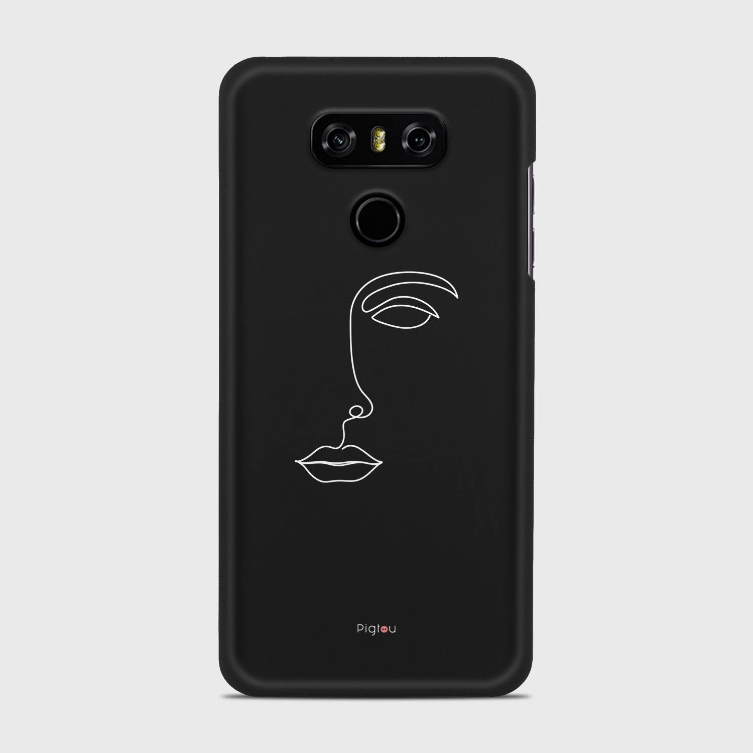 SILHOUETTE FACE LG G6 cases | Pigtou