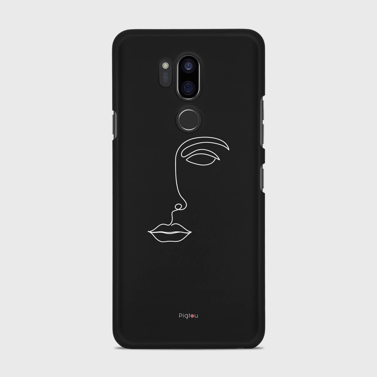 SILHOUETTE FACE LG G7 Thinq cases | Pigtou