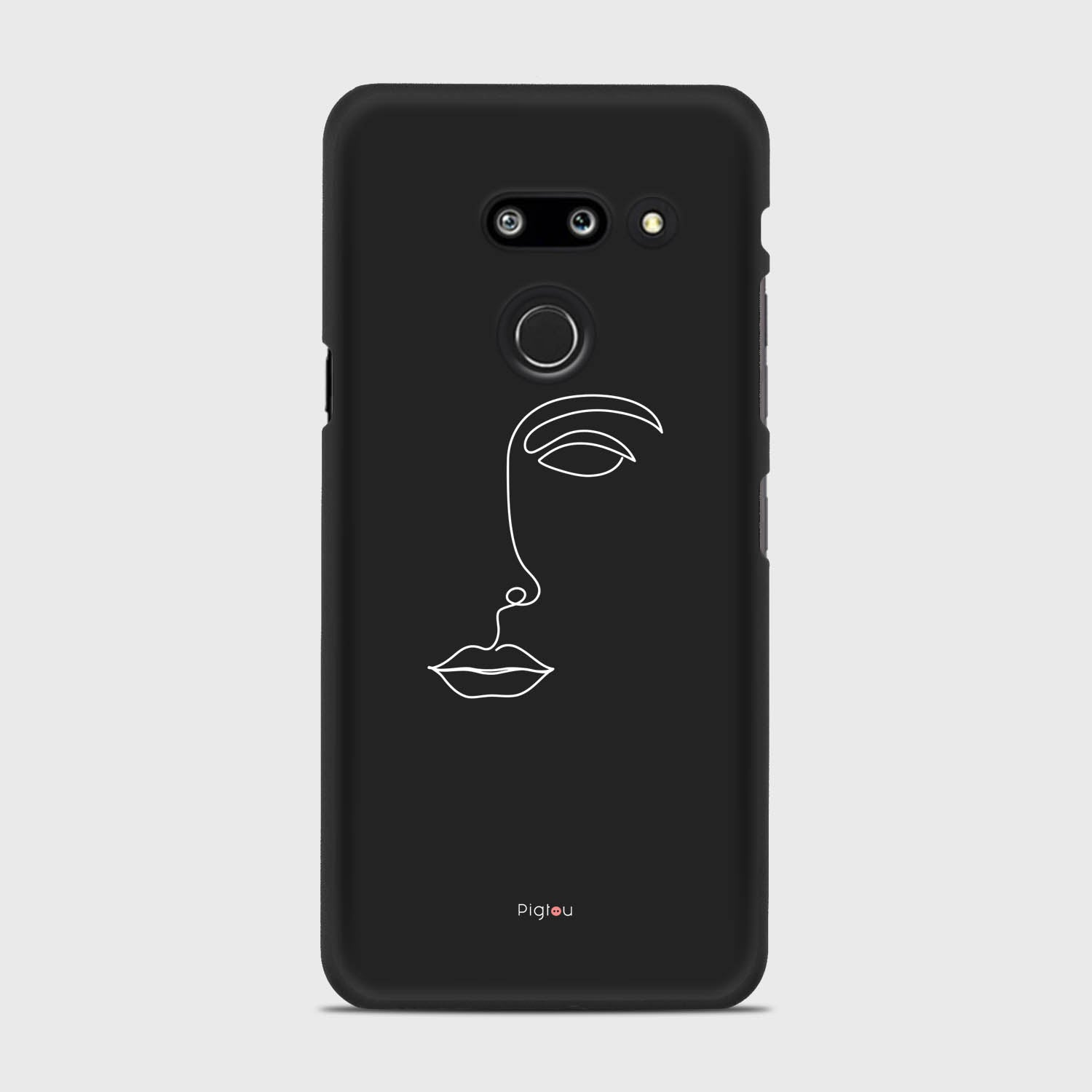 SILHOUETTE FACE LG G8 Thinq cases | Pigtou