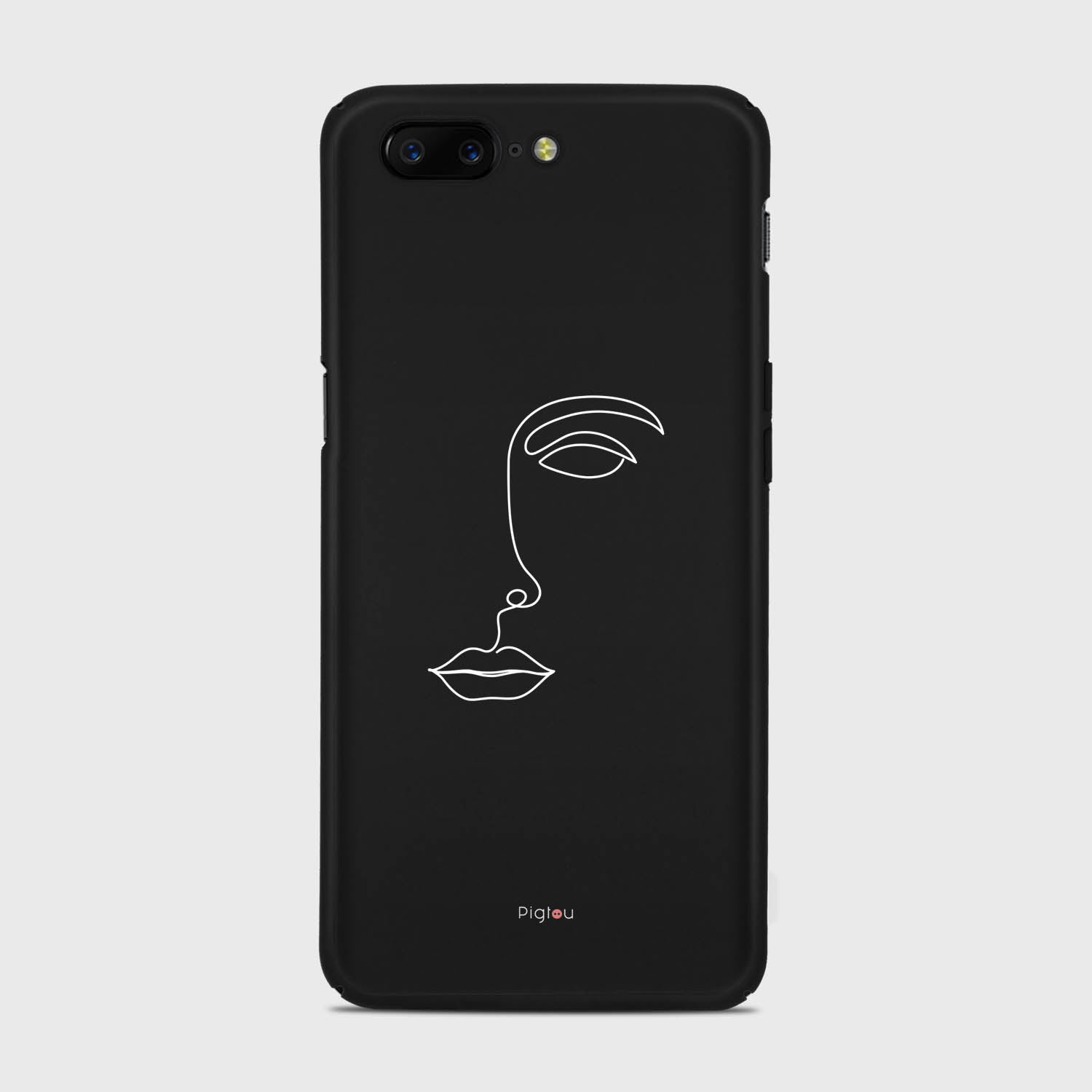 SILHOUETTE FACE Oneplus 5 cases | Pigtou