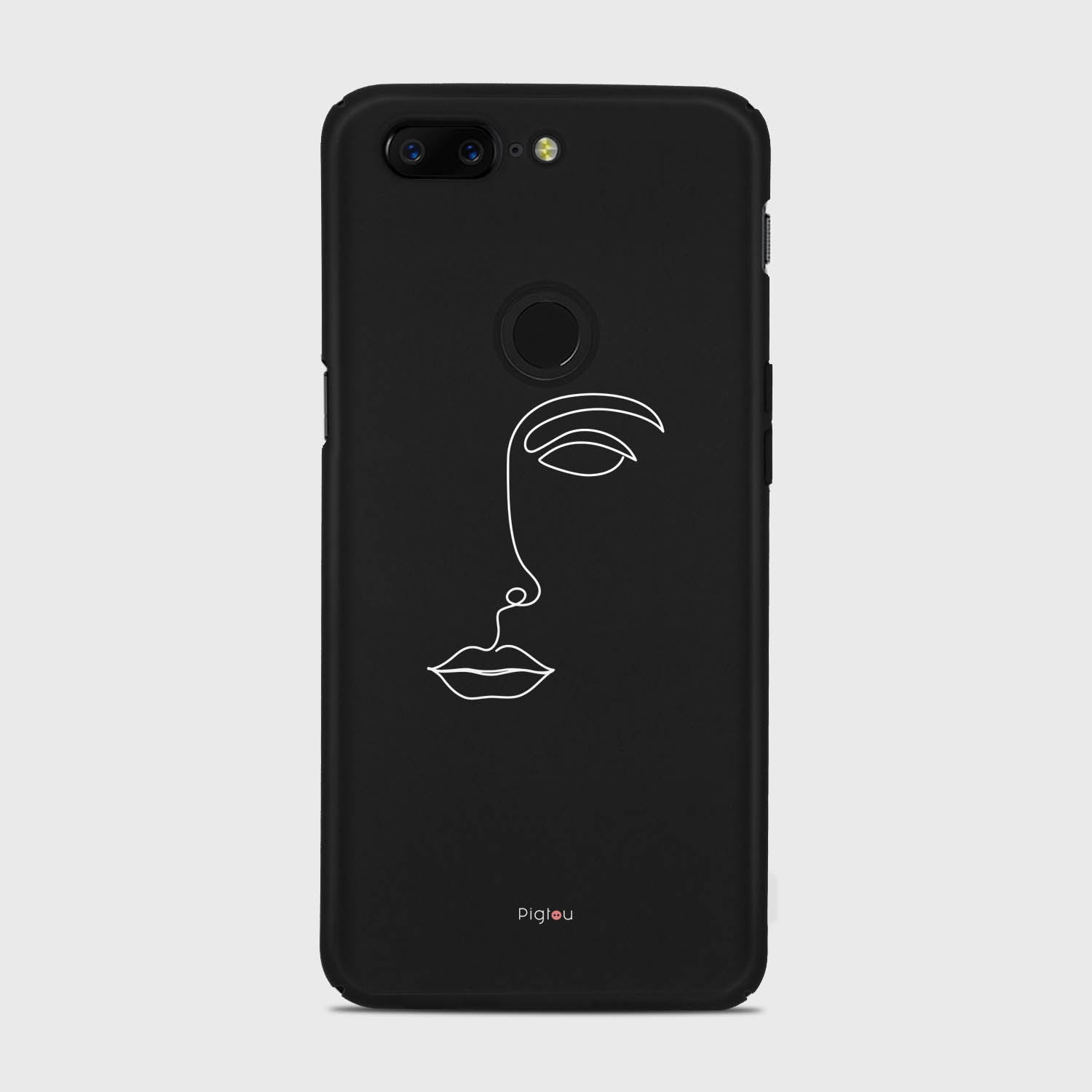 SILHOUETTE FACE Oneplus 5T cases | Pigtou