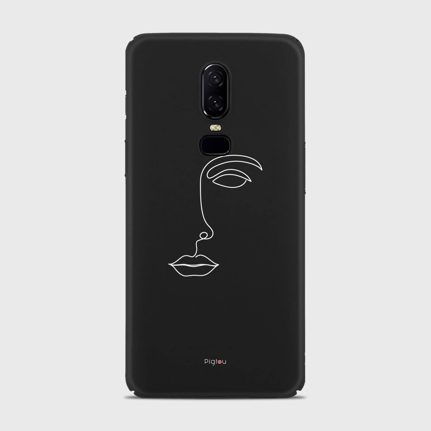 SILHOUETTE FACE Oneplus 6 cases | Pigtou