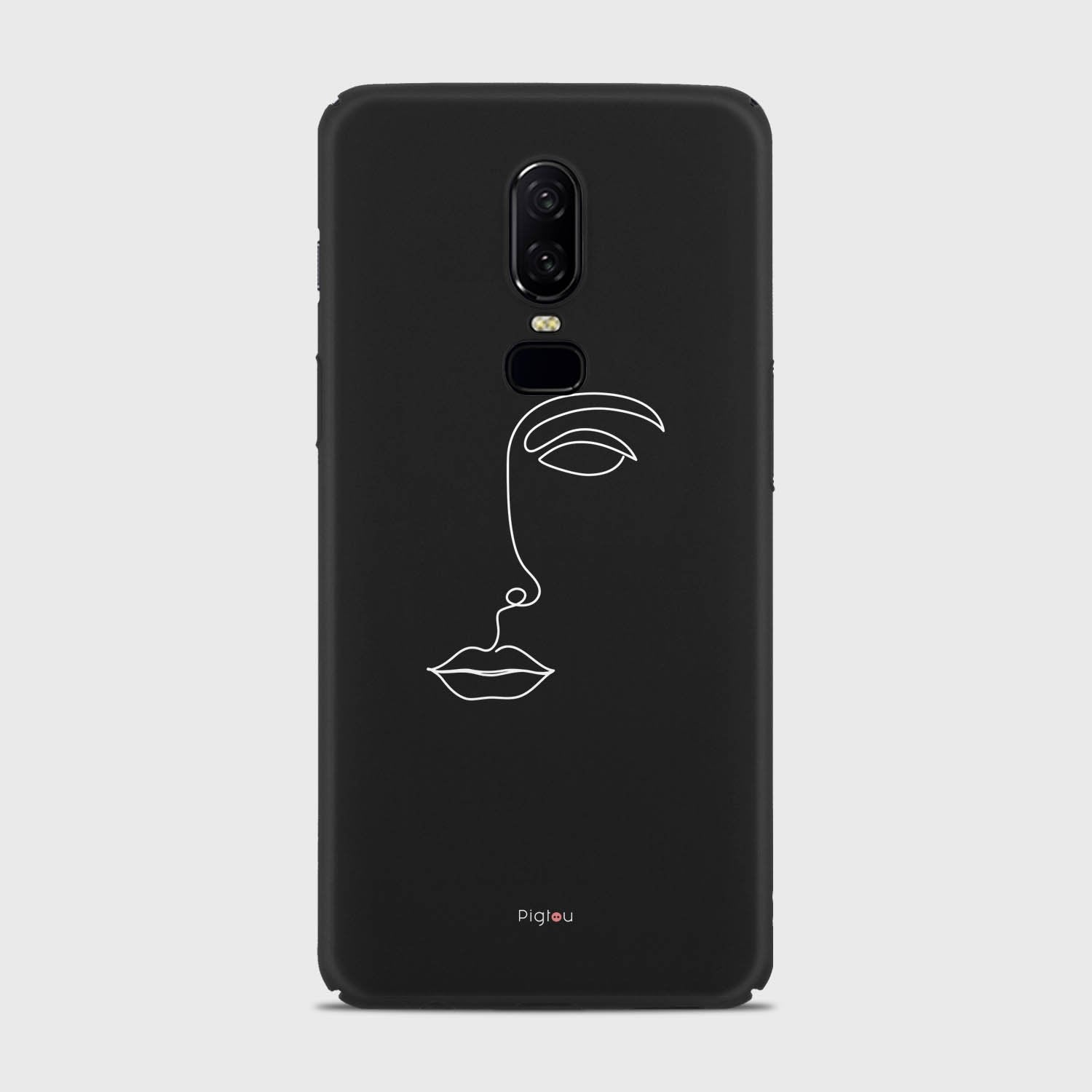 SILHOUETTE FACE Oneplus 7T Pro cases | Pigtou