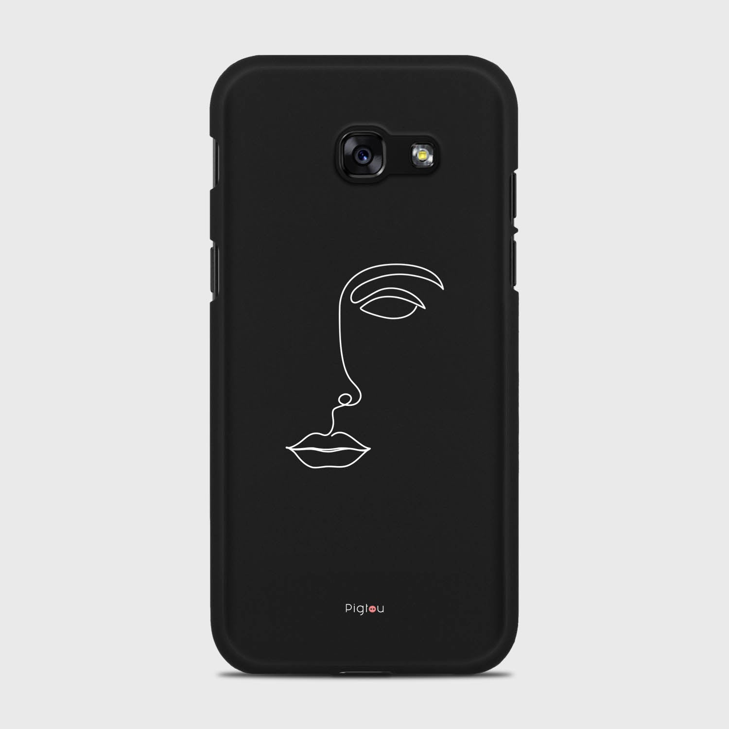 SILHOUETTE FACE Samsung Galaxy A5 cases | Pigtou