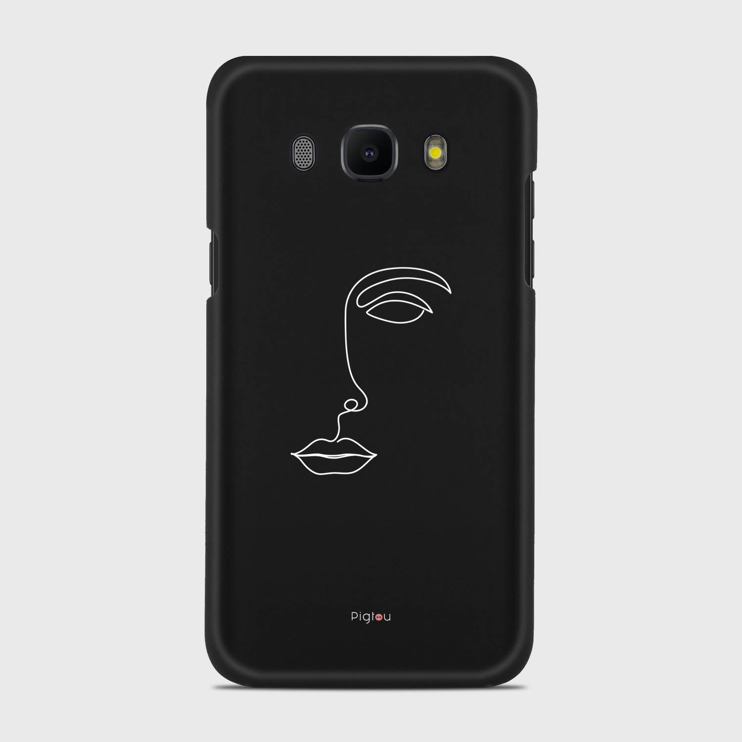 SILHOUETTE FACE Samsung Galaxy J5 cases | Pigtou
