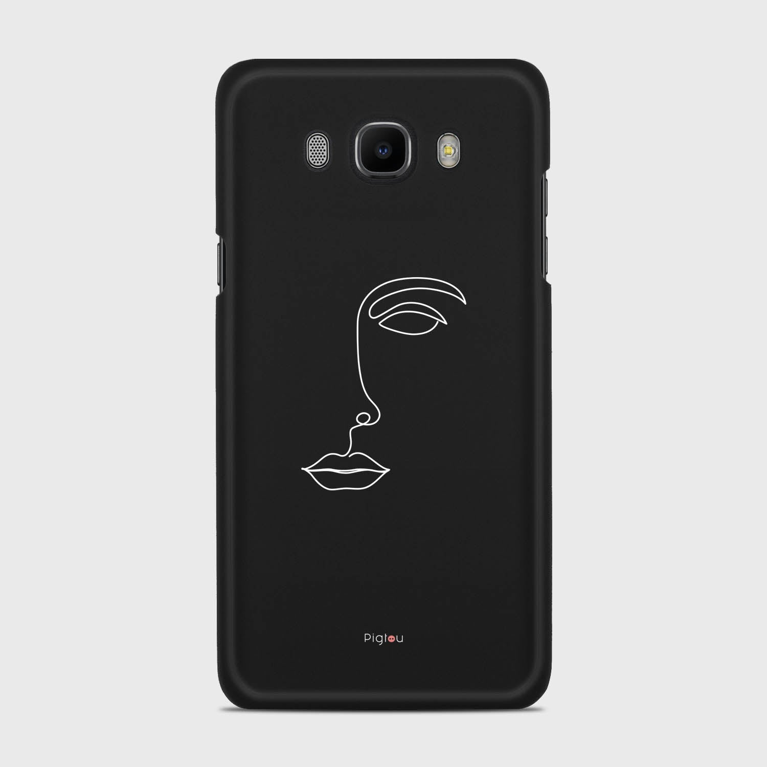 SILHOUETTE FACE Samsung Galaxy J7 cases | Pigtou
