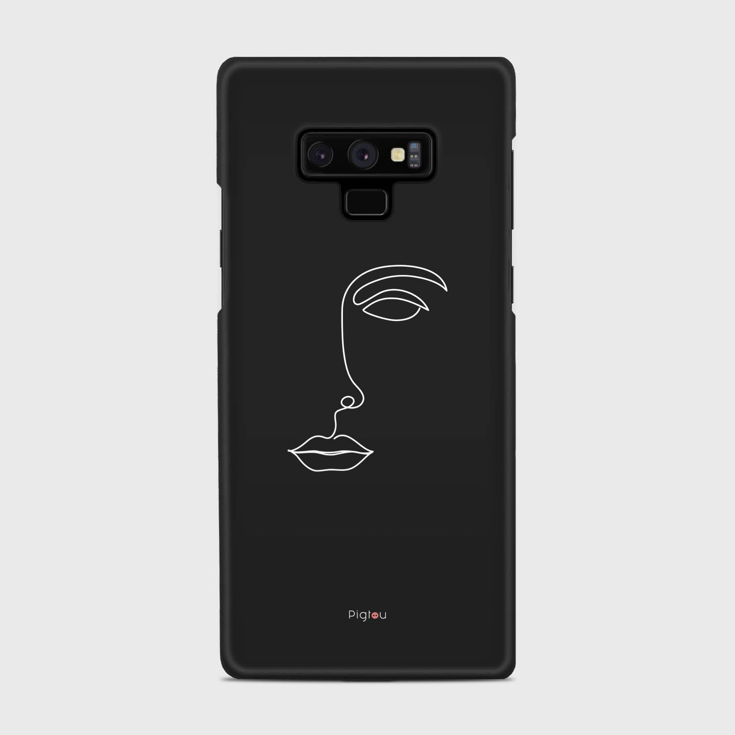 SILHOUETTE FACE Samsung Galaxy Note 9 cases | Pigtou