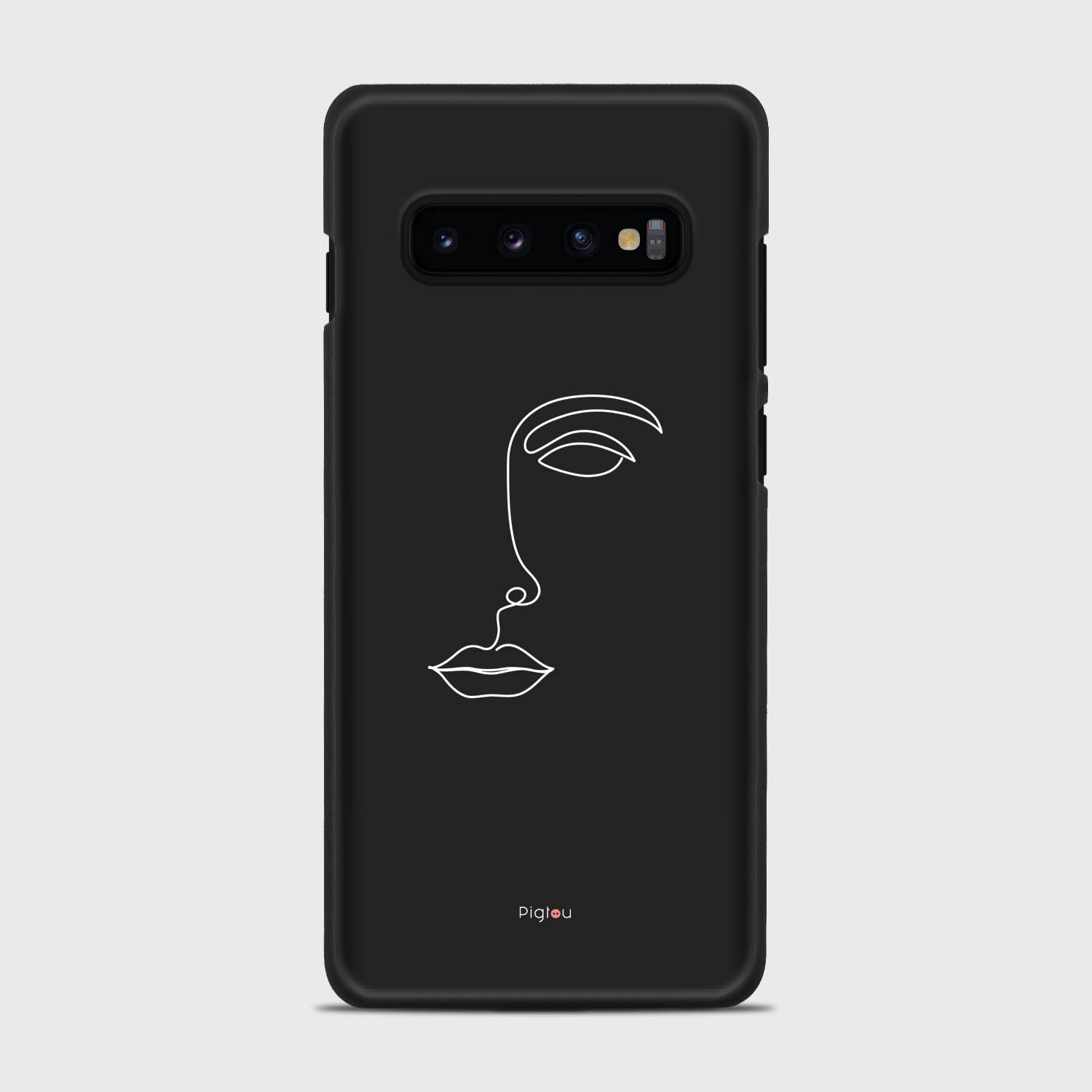 SILHOUETTE FACE Samsung Galaxy S10 Plus cases | Pigtou