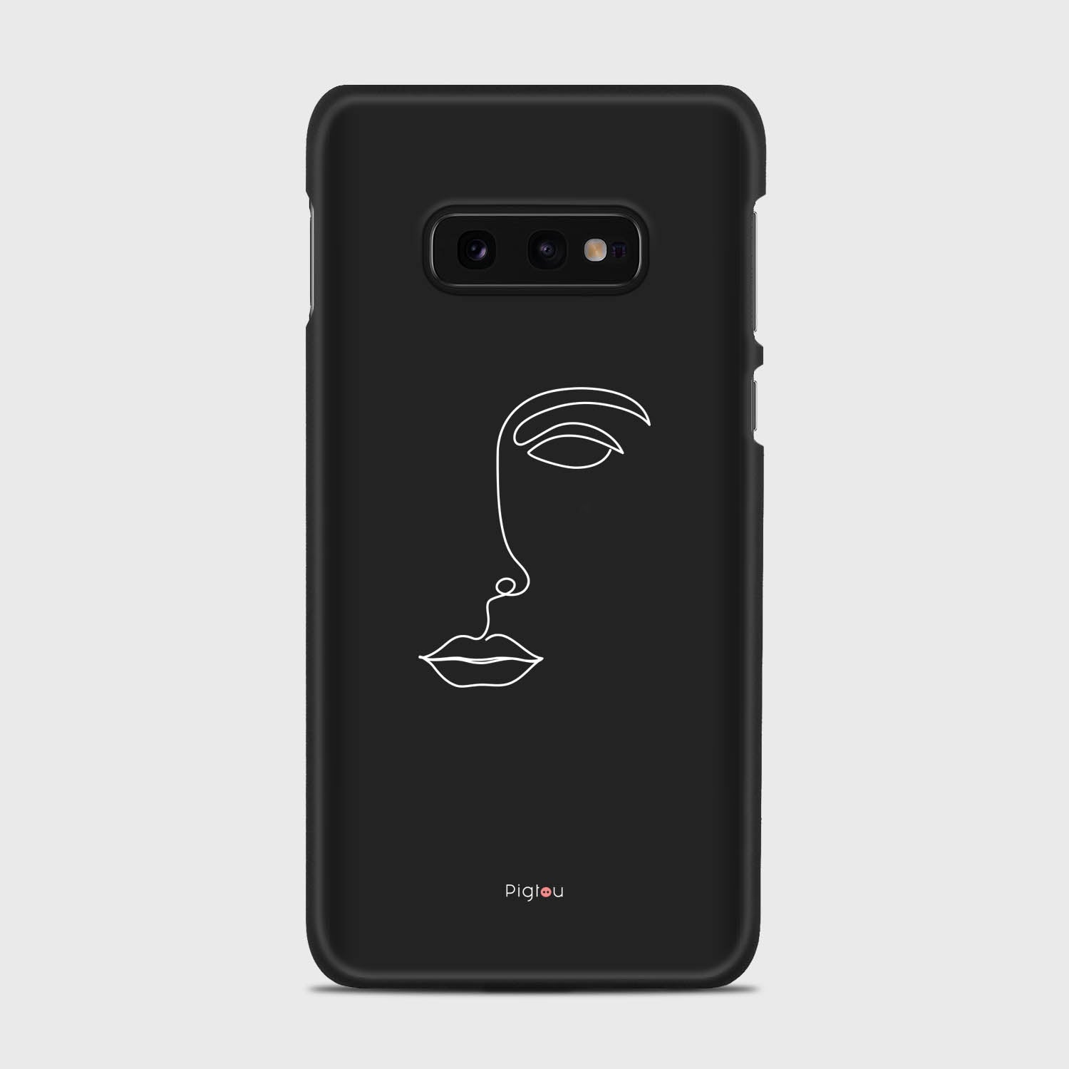 SILHOUETTE FACE Samsung Galaxy S10e cases | Pigtou