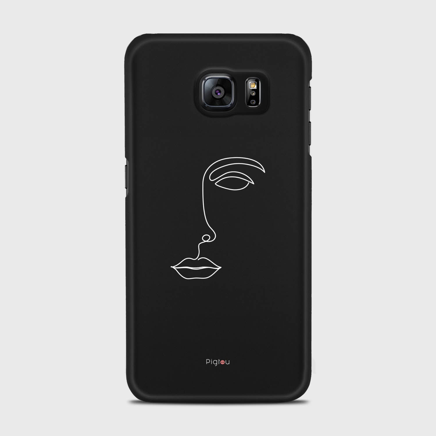 SILHOUETTE FACE Samsung Galaxy S6 cases | Pigtou