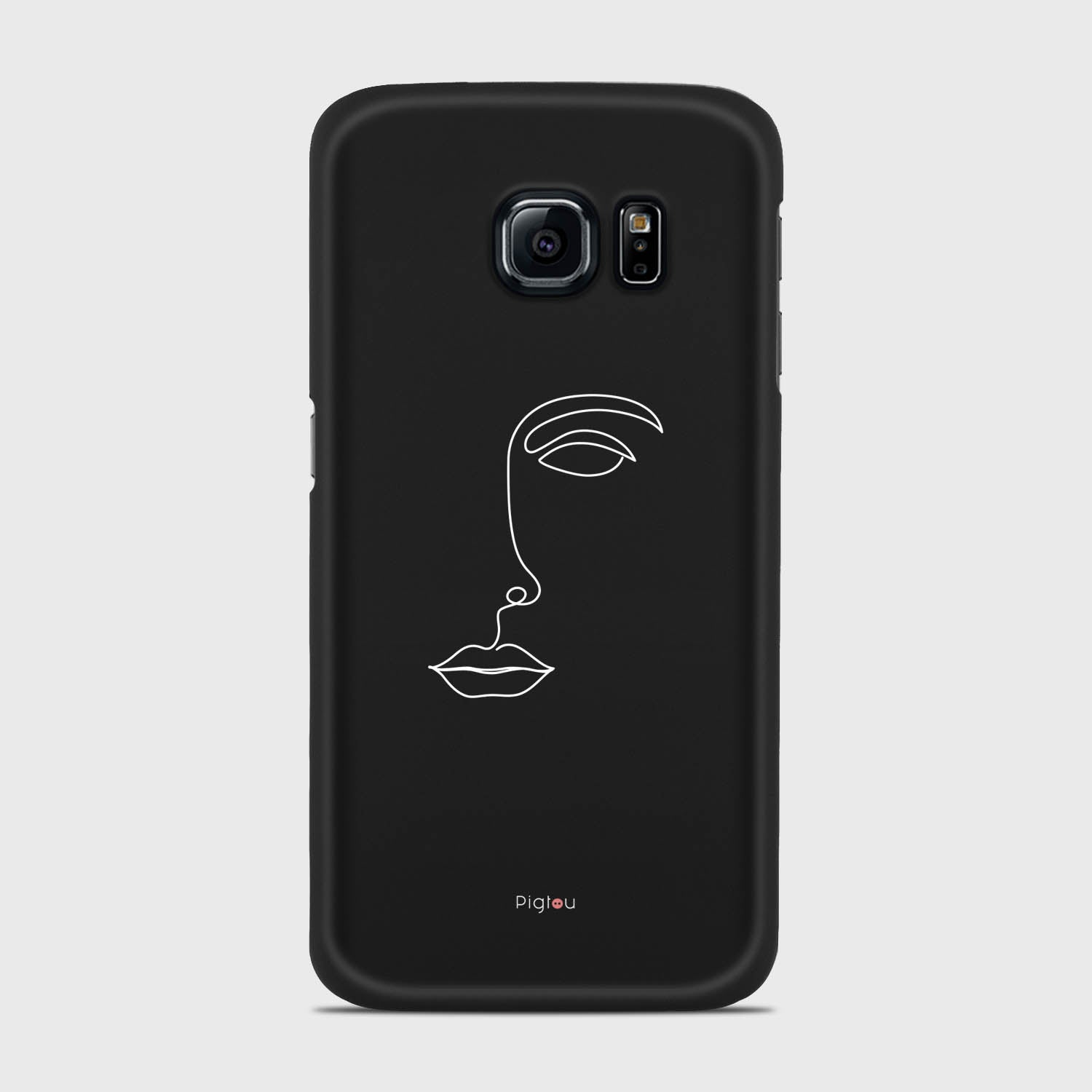 SILHOUETTE FACE Samsung Galaxy S6 Edge cases | Pigtou