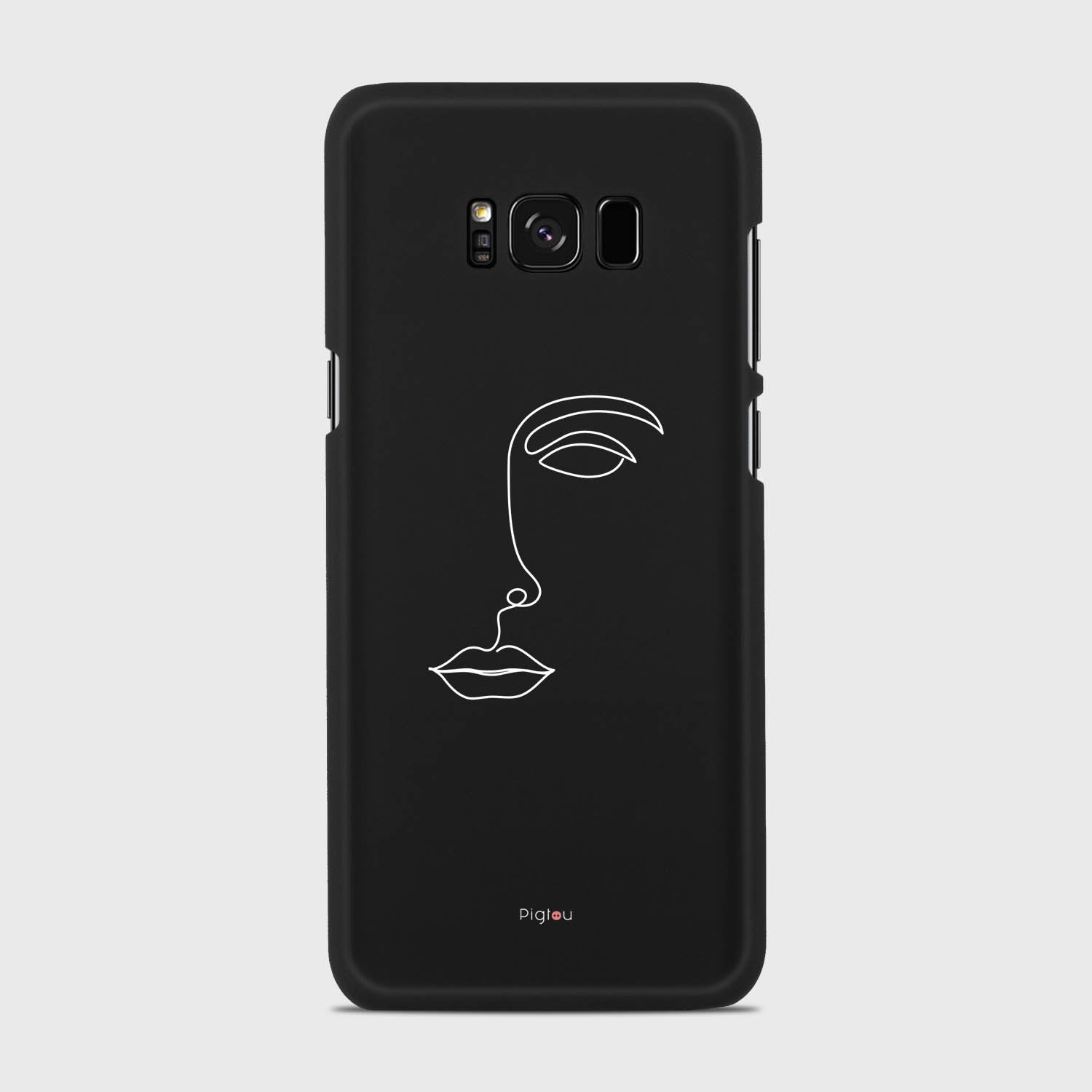 SILHOUETTE FACE Samsung Galaxy S8 Plus cases | Pigtou