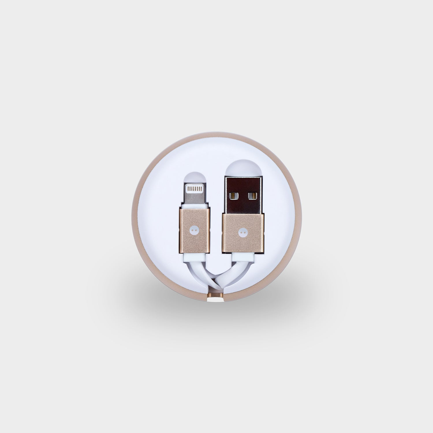 Circle™ Retractable USB to Lightning Cable Cord Charger for Apple iPhone iPod iPad