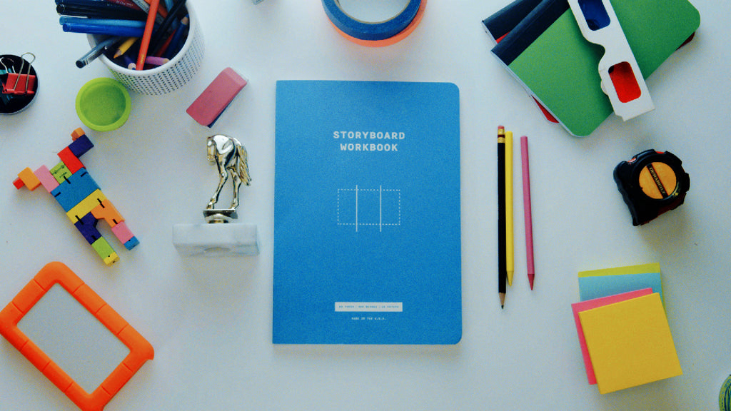 We're Back. In Blue. Introducing the Storyboard Workbook!