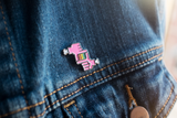 Director Hands Enamel Pin
