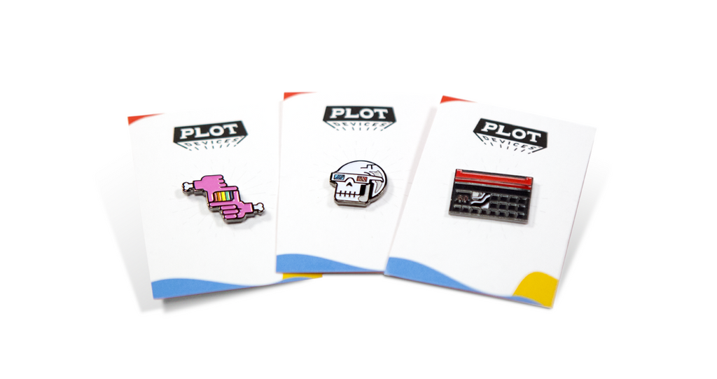 Filmmaker Enamel Pin 3-Pack