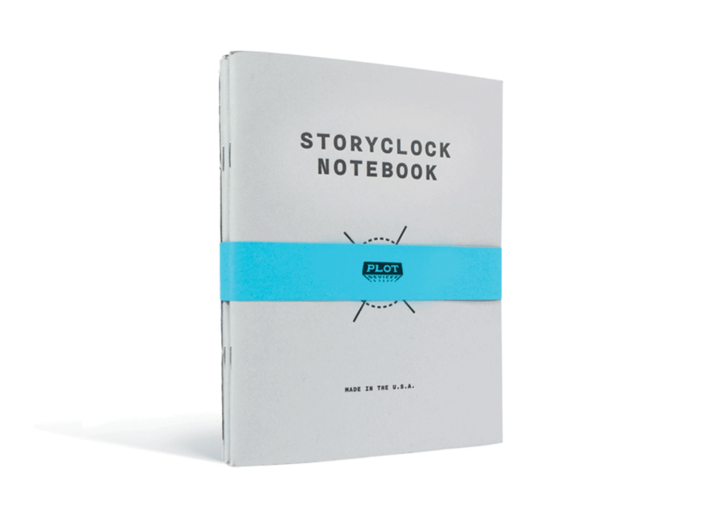 Storyclock Notebook 3-Pack
