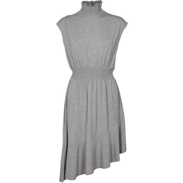 lulu's drawer Alice flounce dress Dress Grey melange