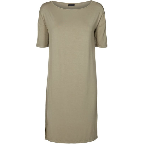 lulu's drawer Alice tee dress Dress Khaki Green