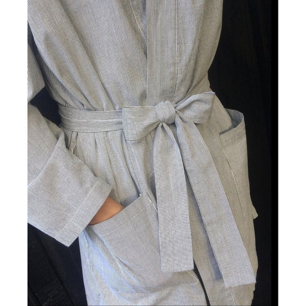 Lulus drawer lounge Carla robe Robe Stripe