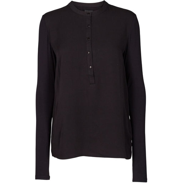 lulu's drawer Houston blouse Shirt Black