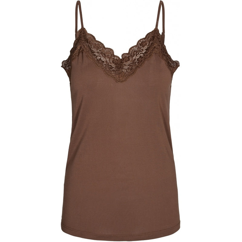 lulu's drawer Huma top Tanktop Rust