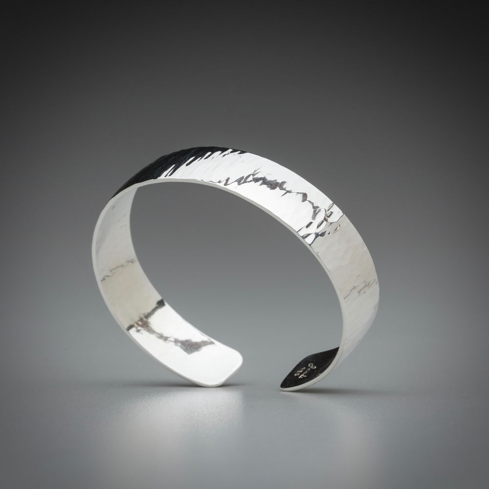 Illuminate Sterling Silver Cuff Bracelet
