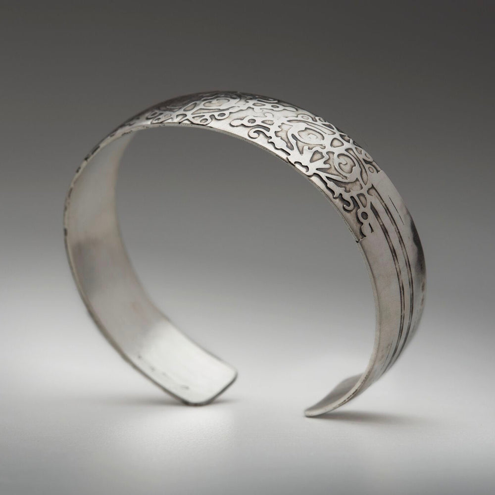 Fierce Sterling Silver Cuff Bracelet