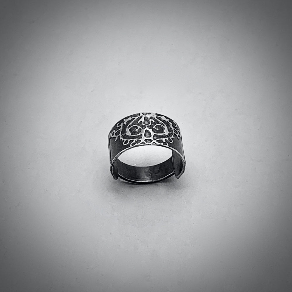 Fierce Sterling Silver Ring 2