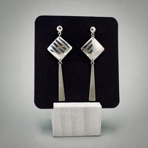 Kite Sterling Silver Post Earrings