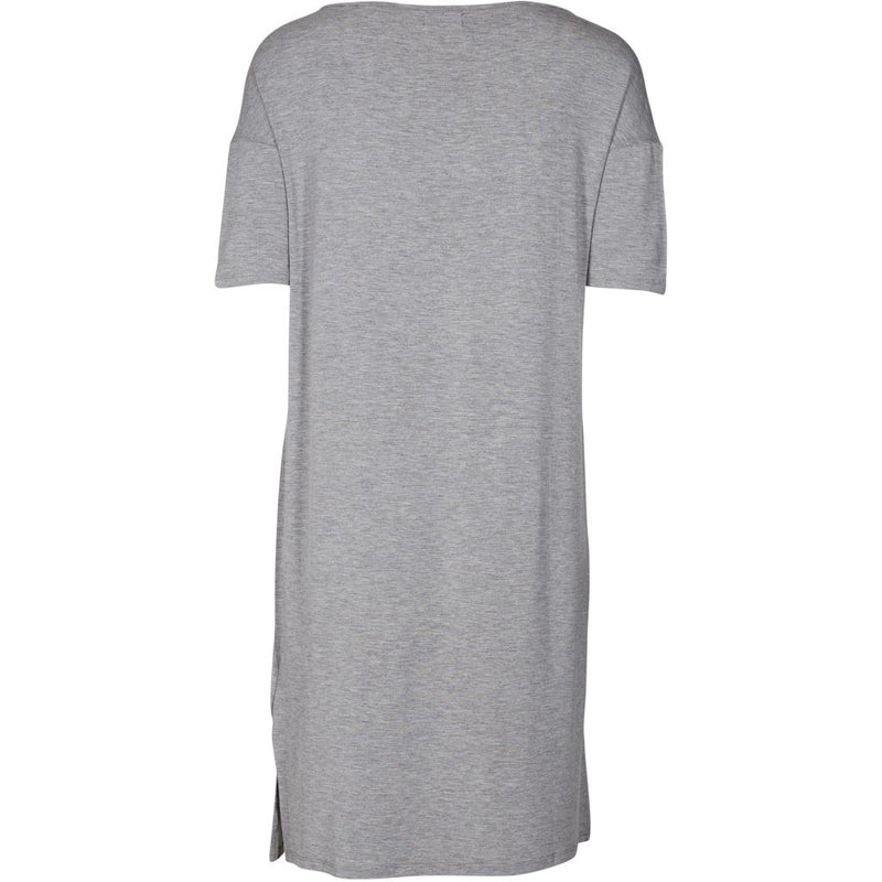 Lulus drawer lounge Alice T-Shirt kleid Dress Grey melange