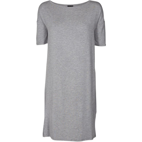 lulu's drawer Alice T-Shirt kleid Dress Grey melange