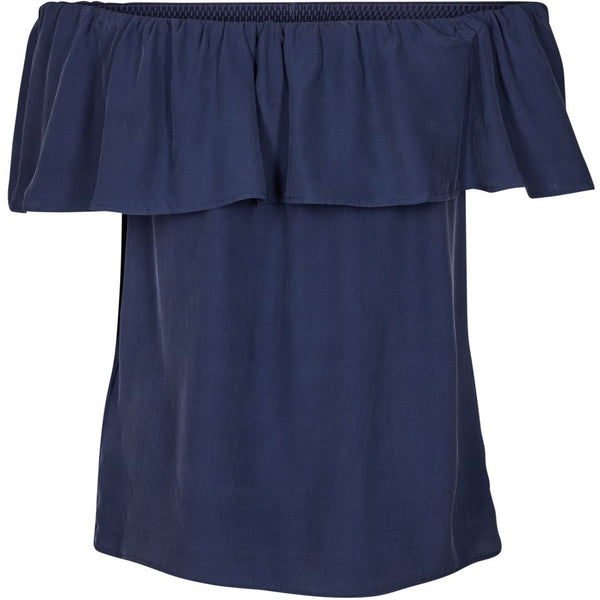 lulu's drawer Anna top Tops & tees Navy