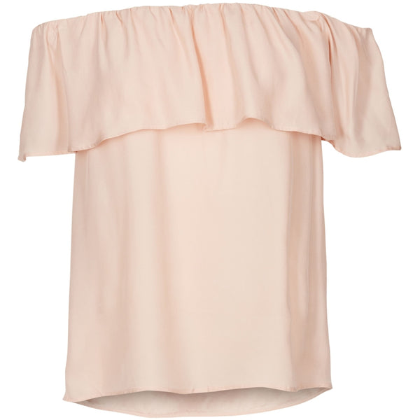 Lulus drawer lounge Anna top 100% silk Tops & tees Blush