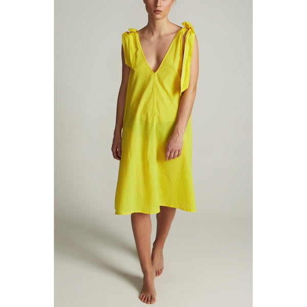 Lulus drawer lounge Gabi dress Dress Yellow