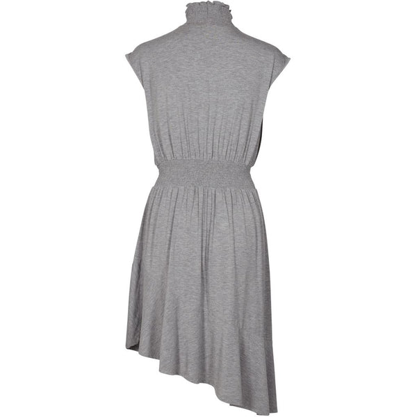 lulu's drawer Lounge Lulus Drawer Alice Rüschenkleid Dress Grey melange