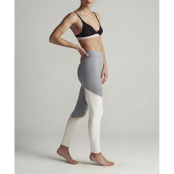 lulu's drawer Hero leggins Pants Grey/Off White